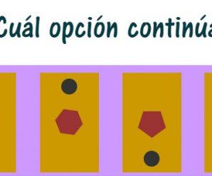¿Cuál opción continúa?