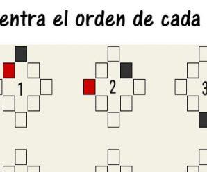 Encuentra el orden de cada serie