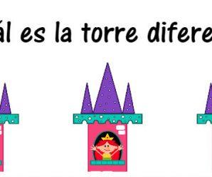¿Cuál es la torre diferente?