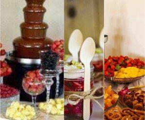 Mesa de frutas para degustar en tu próxima fiesta