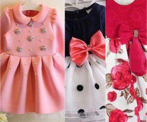 Hermosos diseños de vestidos para tu peque