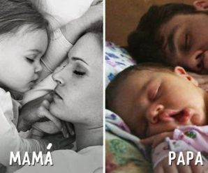 10 Diferencias de Cuando los Hijos están con la Mamá y el Papá; No Aguantarás la Risa
