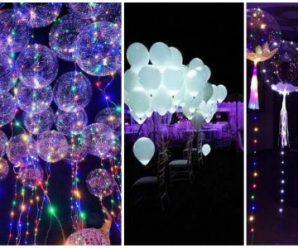 Ilumina tus fiestas Globos y leds